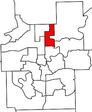 Edmonton-Decore - 2010 boundaries