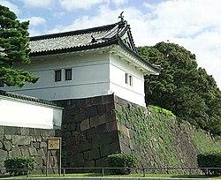 皇居外的城牆及護城河
