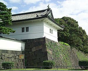 Ōta Dōkan - A portion of Edo castle, built by Dōkan.