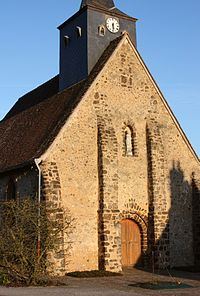 Eglise Notre-Dame, Chapelle-Guillaume, Eure-et-Loir, France.JPG