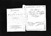 Einladungskarte Johann Wolfgang von Goethes an den mecklenburgischen Staatsminister Leopold von Plessen zu einer Lesung von Hermann und Dorothea in der Cotta'schen Buchhandlung, 1814 (Quelle: Wikimedia)