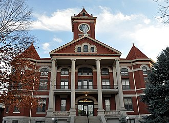 Butler County Courthouse (Kansas) - Image: El Dorado Courthouse, Butler County, Kansas