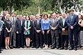 El Lehendakari participa en Barcelona en la concentración con motivo del 30 aniversario del atentado de Hipercor 04.jpg