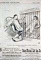 "Elation of the ""heathen Chinee"" over a recent event in San Francisco (caricature of a Chinese man pointing and laughing at Denis Kearney in San Francisco jail) LCCN2001696528.jpg"