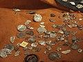 Elbląg, muzeum, stříbrné arabské mince.JPG