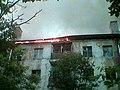 Elektrostal. Fire on street Mayakovskogo, house 8. img 02.jpg