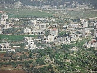 Al Jib - View of Al Jib's center, 2012