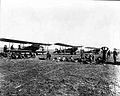 Ellington Field - Curtiss JN4s - 1918 - Texas.jpg