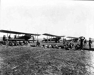 Ellington Field Joint Reserve Base - Curtiss JN-4 Jennys at Ellington Field