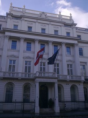 Embassy of Austria, London - Image: Embassy of Austria in London 3