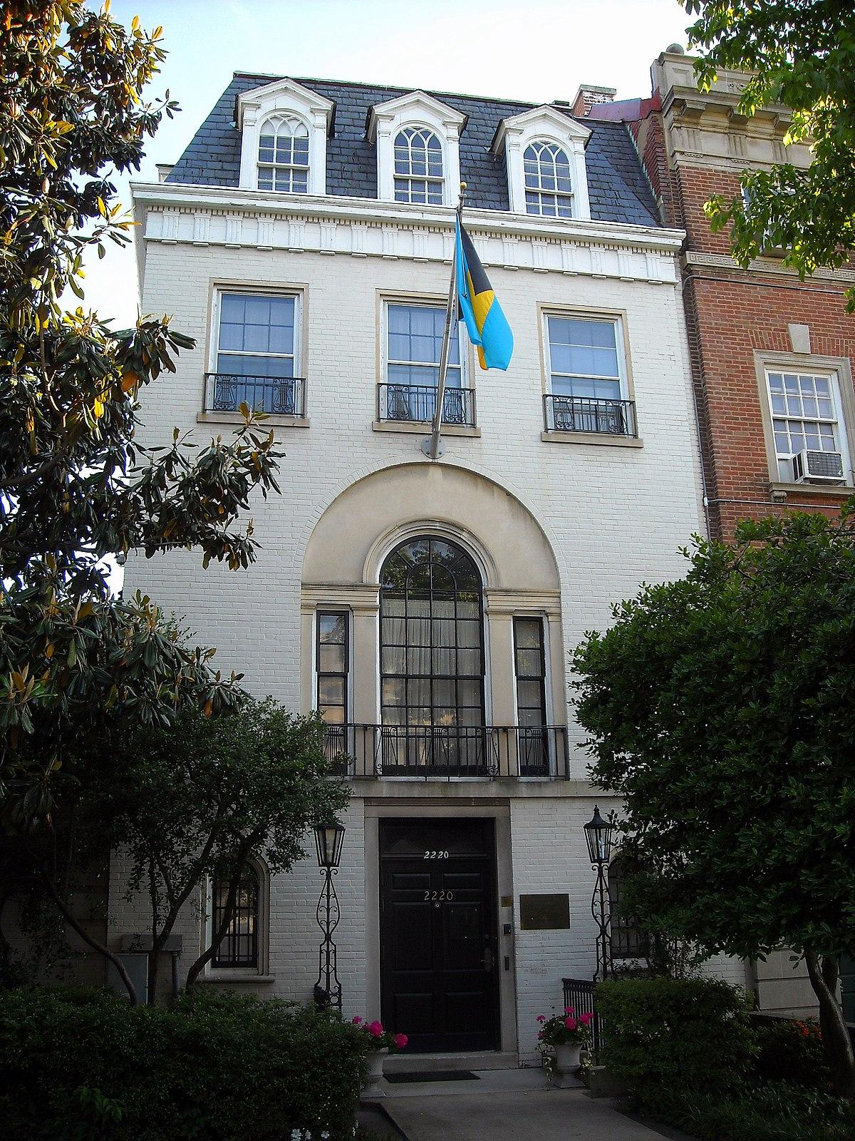 Embassy of the Bahamas in Washington, D C  - Wikipedia