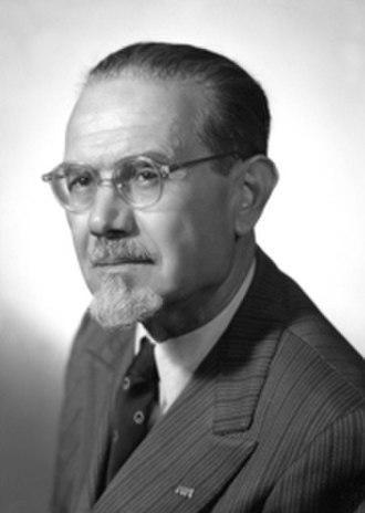 Emilio Lussu - Lussu in 1950s as Senator.