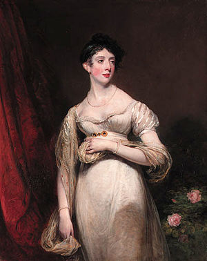 Emily Temple, Viscountess Palmerston - Portrait of Emily Lamb, Countess Cowper by William Owen, ca. 1810