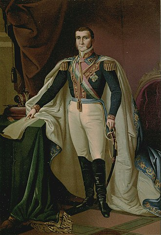 Mexicans of European descent - Agustín de Iturbide, achiever of the Independence of Mexico, designer of the Mexican flag and emperor of México, was of Spanish/criollo origin.