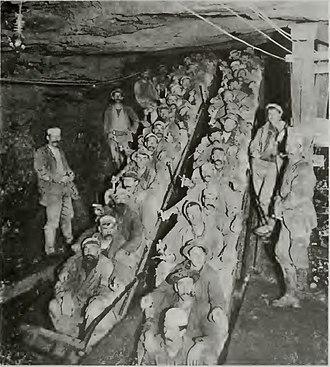 Empire Mine State Historic Park - Image: Empire Mine 2 Shift