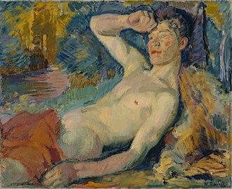 Magnus Enckell - The Faun (1914)