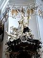 Engelszell Stiftskirche - Kanzel 5 Bernhard Abelard.jpg