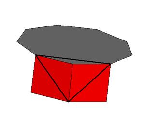 Enneagonal prism - Image: Enneagonal prism vertfig