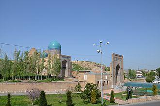 Shah-i-Zinda - Modern view.