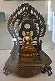 Enthroned Seated Buddha - Bronze - Showcase 12-1 - Bronze Gallery - Government Museum - Mathura 2013-02-24 6639.JPG
