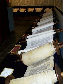 Entire Tanakh scroll set
