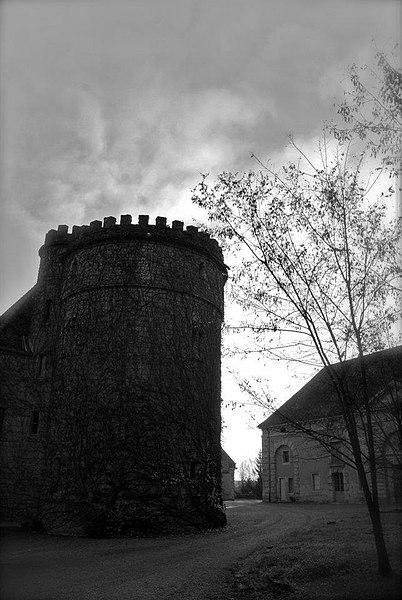 Entrée Chateau de Villersexel; tour et ferme