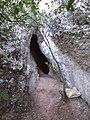 Entrada de la Cova de les Ànimes (setembre 2011) - panoramio.jpg