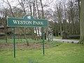 Entrance to Weston Park - geograph.org.uk - 748007.jpg