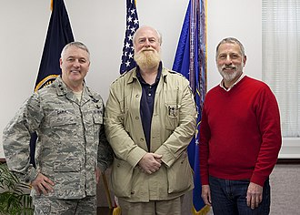 Bran Ferren - Ferren, along with Eric Angelson and US Air Force Major General Michael Carey in 2013