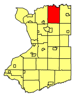 Location of Clarence in Erie County