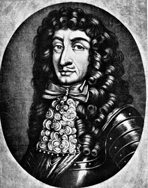 Ernst Rüdiger von Starhemberg - Portrait, copy after Peter Schenk the Elder