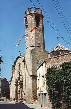St. Peter's church, Alcanó