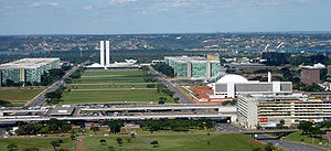 Federal District (Brazil) - Esplanade of the Ministries and Central Bus Station in Brasília