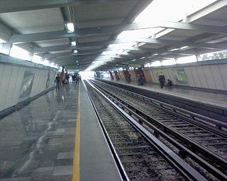Metro Consulado Mexico City metro station