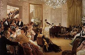 English: Etiquette at the Ball for the Victori...