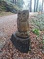 Eulenskulptur am Schloßsteig zum Gebhardsberg in Bregenz.jpg