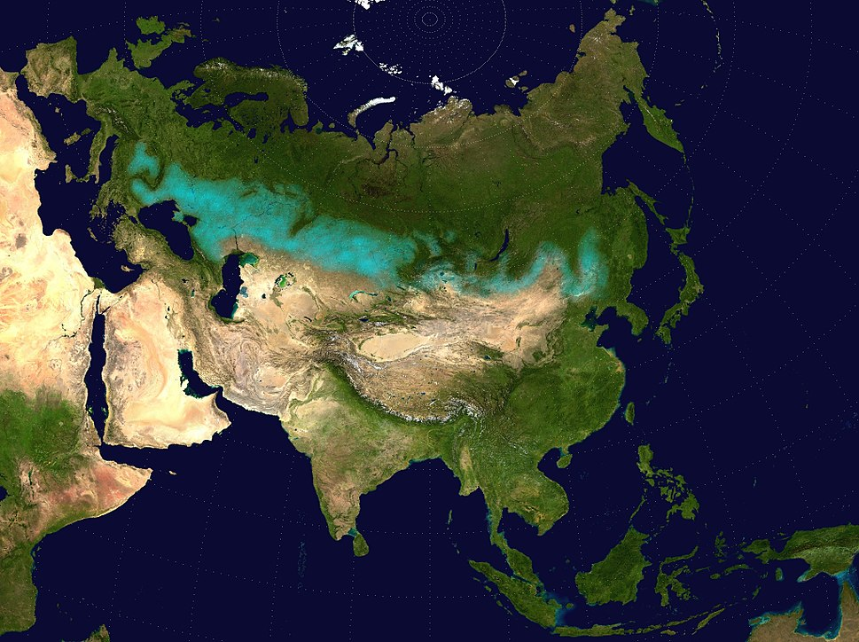 Eurasian steppe belt