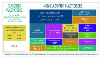 Phthalate - Update on Non-Classified plasticisers and the European REACH Candidate Classification including pending authorisation