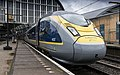Eurostar 4031 4032 just arrived at Amsterdam CS after a 4 hour journey from London St. Pancras (28227044569).jpg