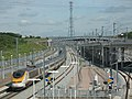 Eurostar at Ebbsfleet - geograph.org.uk - 876500.jpg
