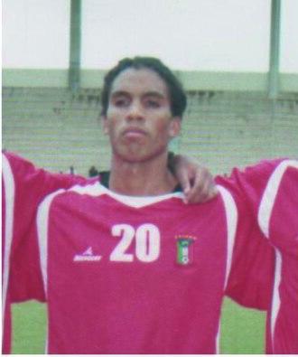 Daniel Vázquez Evuy - Evuy in the Equatoguinean national team