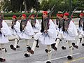 Evzones at Changing of the Guard, Syntagma Square, Athens.JPG