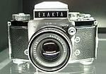 Exakta Varex IIb camera at NTM, Prague.jpg