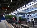 Excel centre Custom House DLR station.jpg
