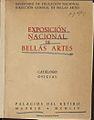 Exposición Nacional de Bellas Artes 1954 Catálogo oficial.jpg