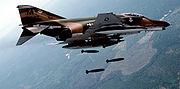 McDonnell Douglas F-4 Phantom II or Fighting Phantom fighter-bomber