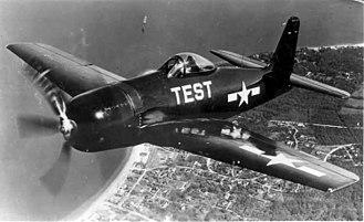Grumman F8F Bearcat - Image: F8F Bearcat (flying)