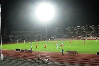 FC Jazz - 2013 promotion playoffs FC Jazz vs. Ekenäs IF at Pori Stadium.