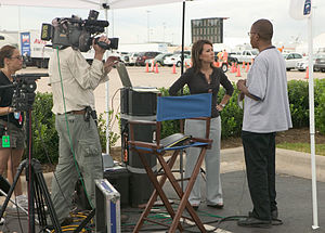 Houston, TX., 9/10/2005 -- Media conduct inter...