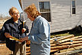 FEMA - 34183 - FEMA Community Relations worker talking to resident in Arkansas.jpg
